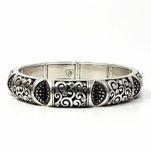Brighton Silver Stretch Bracelet